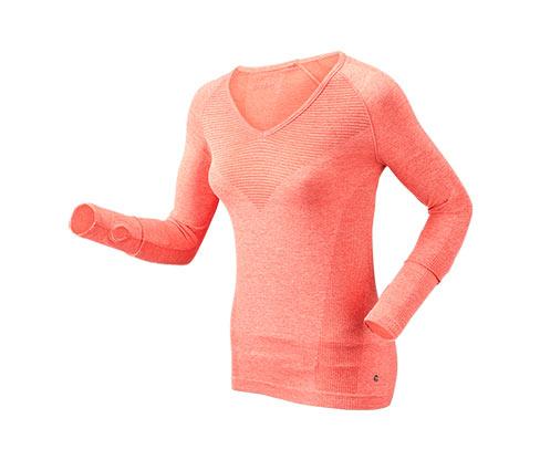Koszulka funkcyjna z długim rękawem »seamless«