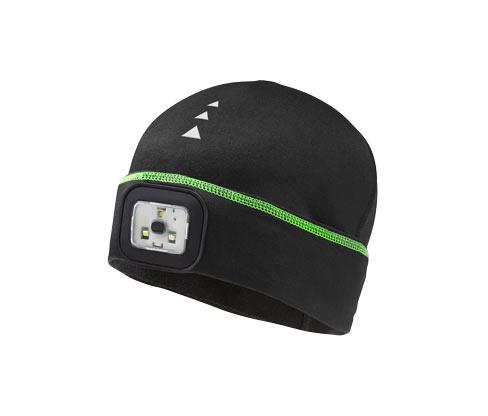 Běžecká čepice s LED