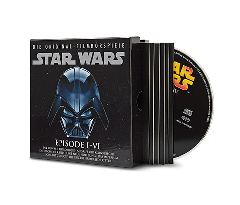 CD-Box »Star Wars – Die Original-Filmhörspiele Episode I–VI«