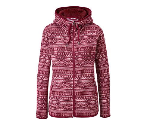 Veste en tricot polaire