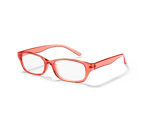Tartalék olvasószemüveg, narancs