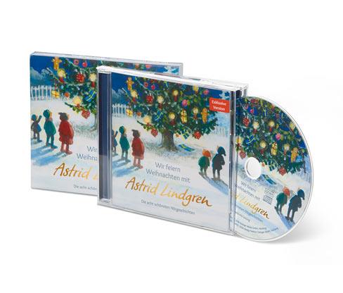 CD »Astrid Lindgren – wir feiern Weihnachten«