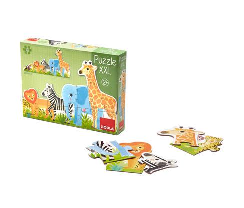 Goula Puzzle XXL <bold>»Dschungel«</bold>
