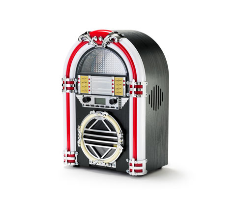 Mini-Jukebox mit Bluetooth®, Radio & CD-Player