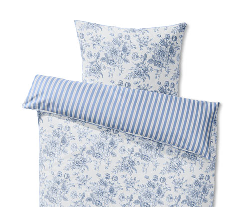 Dwustronna pościel ze wzmocnionej bawełny, na 1 poduszkę: ok. 80 x 70 cm, na 1 kołdrę: ok. 140 x 200 cm