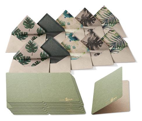 Lot de cartes de vœux