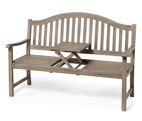 Zahradní lavička, vintage grey