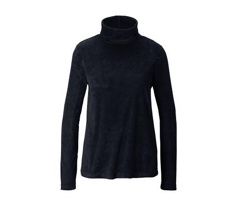 Mikrofleecový svetr s rolákovým límcem