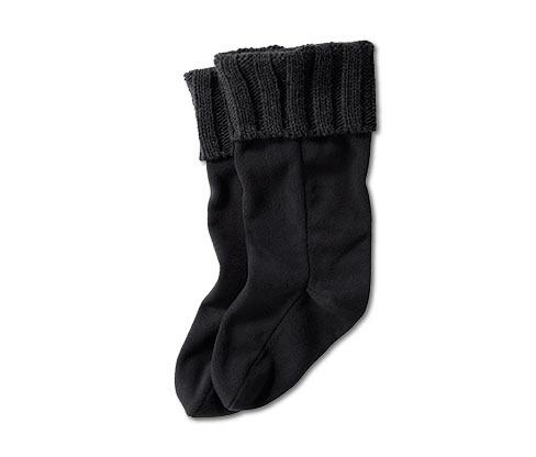 Fleecové ponožky do holínek