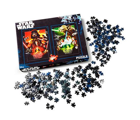 2 Star Wars puzzle szettben