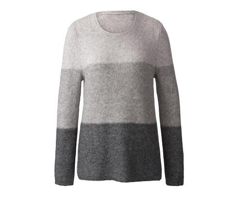 Női pulóver, csíkos