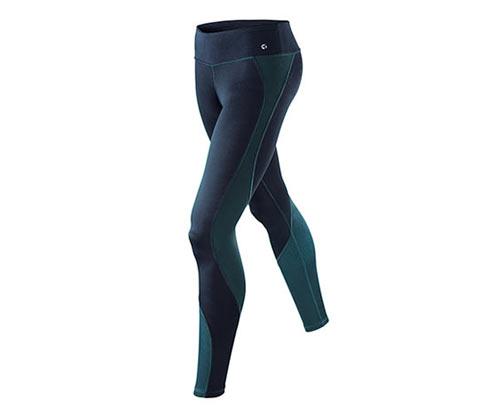 Legging de sport avec effet caméléon, bleu