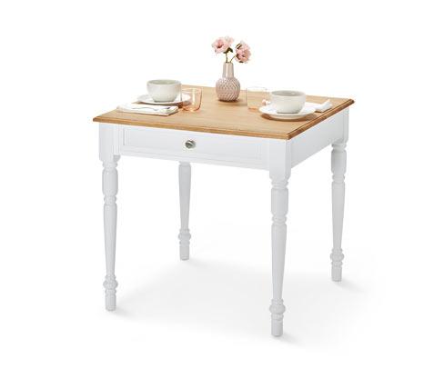 Étkezőasztal, fiókos