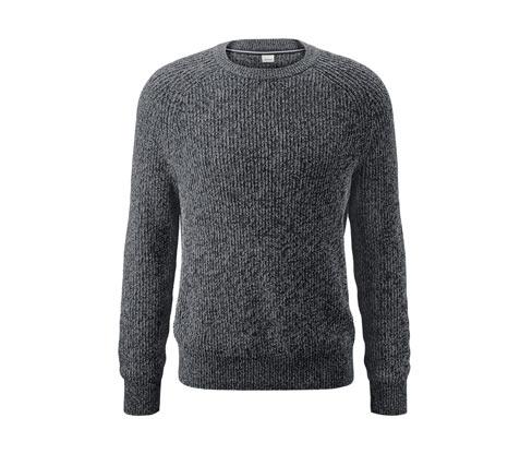 Sweter z dzianiny o grubym splocie