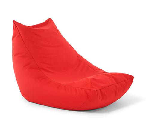 Outdoor-Sitzbanane, rot