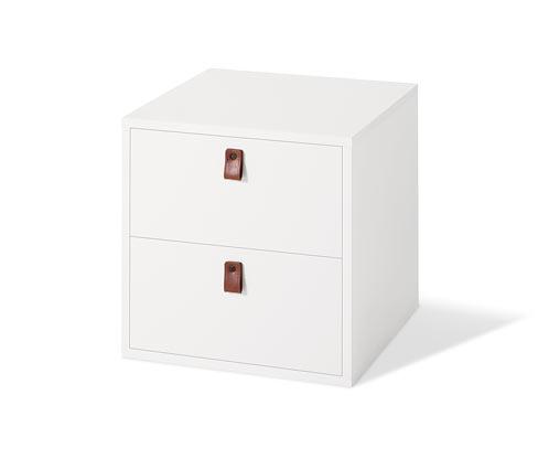 Modulová kocka s 2 zásuvkami