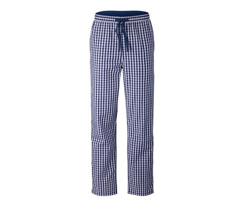 Mavi Organik Pamuklu Rahat Pantolon