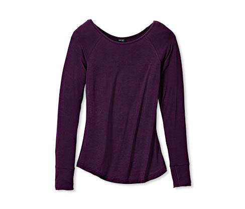 Wellness tričko, tmavofialové