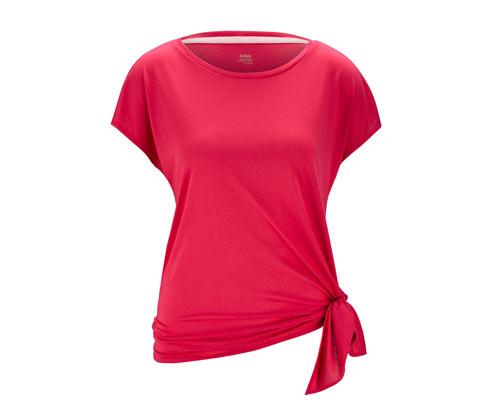 Női sportfelső, piros