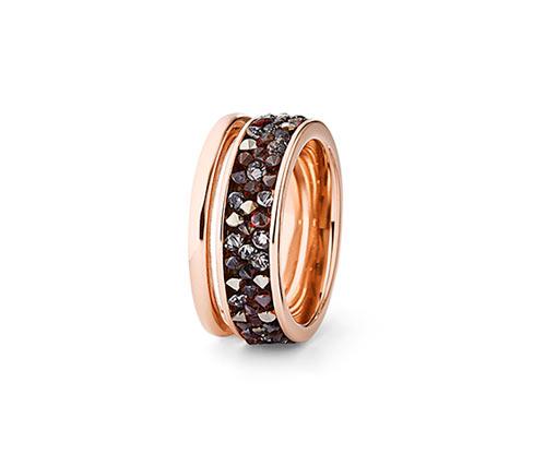 Pierścionek wysadzany kryształami Swarovski®