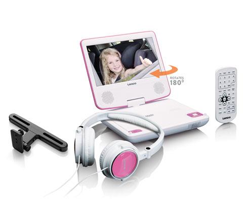"""Lenco »DVP-710«, tragbarer 7""""-DVD-Player"""
