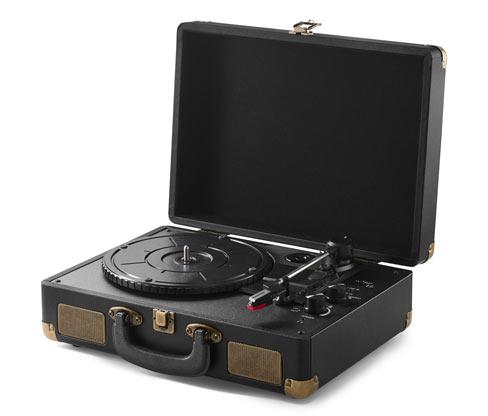 Przenośny odtwarzacz płyt retro z funkcją Bluetooth®