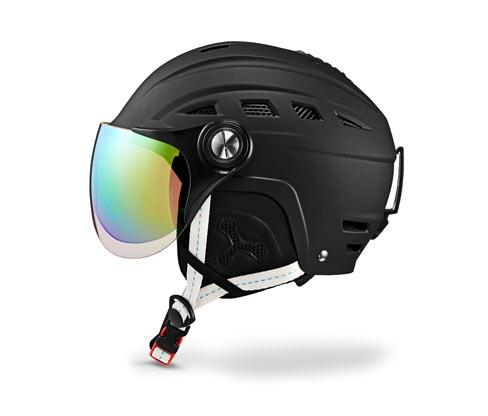 Lyžařská a snowboardová helma s ochranným štítkem