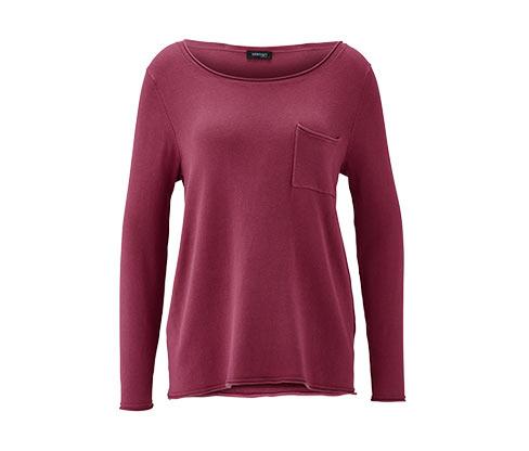 Pullover, rosenholz