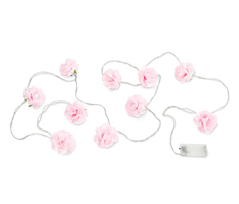 LED-Lichterkette, Blumen
