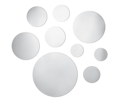 9 Adet Sticker Ayna
