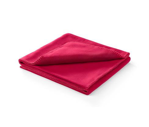 Puha takaró, piros