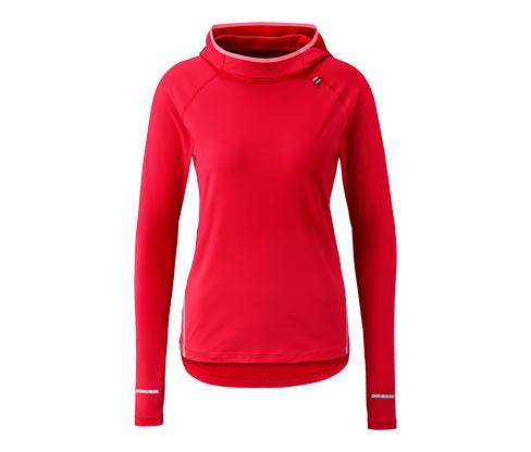 Běžecké triko s kapucí