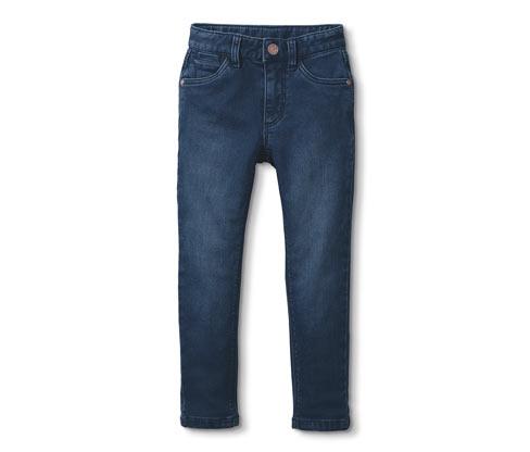 Fiú farmerhatású nadrág, kék