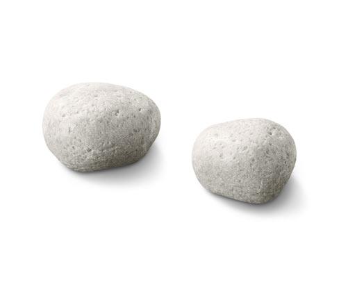 Dekorační kameny s LED, 2 ks