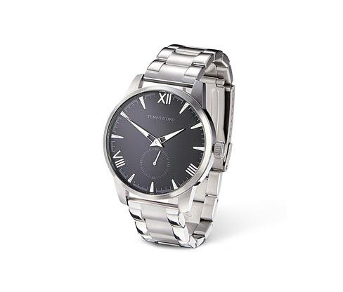 Pánské quarzové hodinky z ušlechtilé oceli