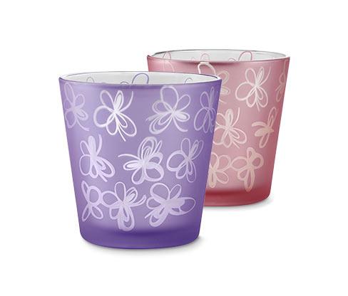 Svícny na čajovou svíčku, 2 ks