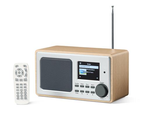 WLAN internetové rádio s farebným displejom