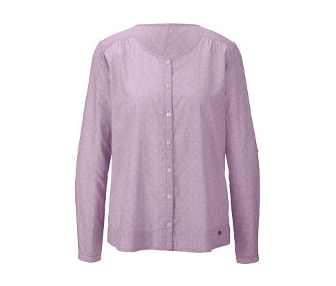 Bluzka z tkaniny chambray