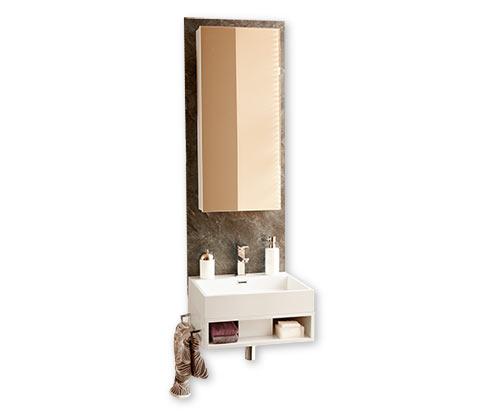 Kúpeľňová zostava s umývadlom