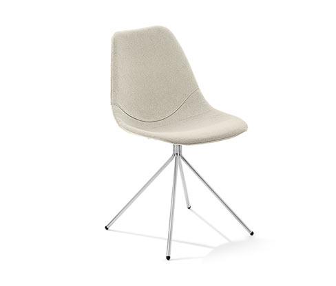Židle, šedá