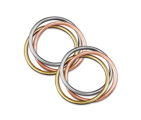 Kroužky na ubrousky Tricolor, 2 ks