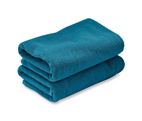 2 frottírtörölköző szettben, kék