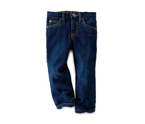 Ciepłochronne spodnie dżinsowe