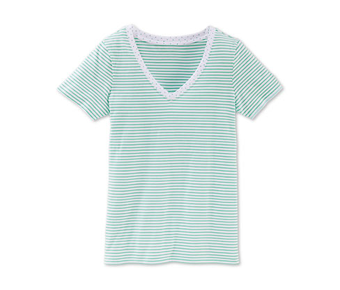 Tričko, bílo-mátový proužek