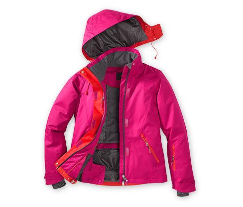 Lyžařská bunda, růžová
