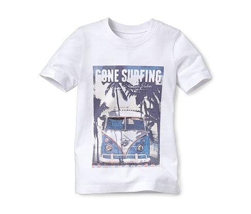 Tričko, bílé s fotopotiskem