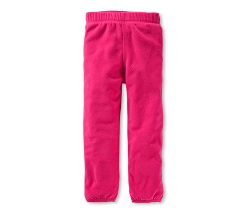 Kinder-Fleecehose, Rot