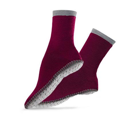 Női házicipő-zokni