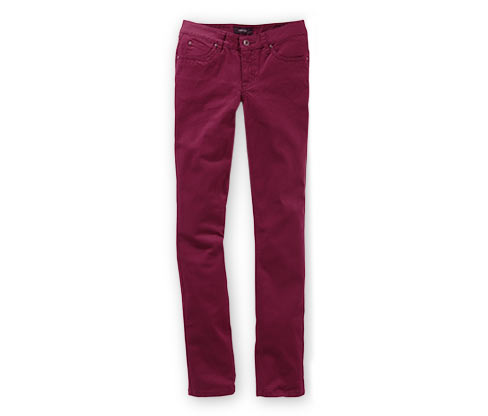 "Jeans ""Slim Fit"", Rot"