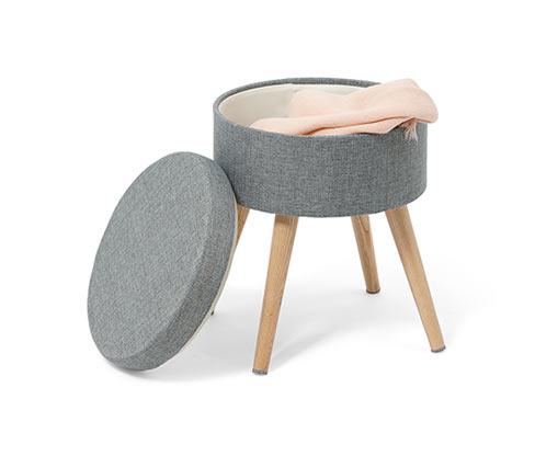 Stolička s úložným prostorem